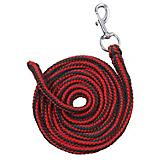 Tough-1 Braided Poly Cord Lead 8ft Hunter/Red