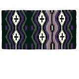 Mayatex Las Cruces NZ Wool Saddle Blanket Purple