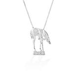 Kelly Herd Whimsical Horse Pendant