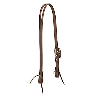 Weaver Working Cowboy Split Ear Headstall Rope Edg