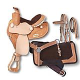 Silver Royal Mae Mini 4-Piece Barrel Saddle Pkg