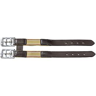 EquiRoyal Leather Girth Extension with Elastic End