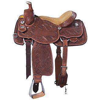 Silver Royal Weston Roper Saddle