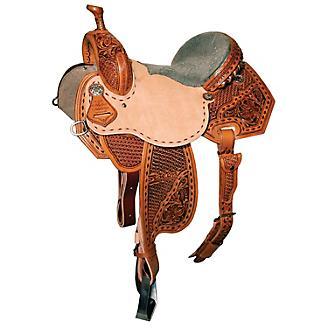 Reinsman McRAe Special Effx Snowflake Saddle