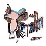 Silver Royal Skylar 5-Piece Barrel Saddle Pkg