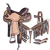 Silver Royal Naomi 5-Piece Barrel Saddle Pkg
