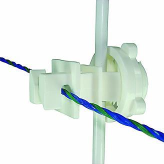 Field Guardian Round Post Insulator-Polywire/Wire