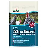 Meatbird Starter Grower Crumbles with Probiotics