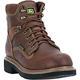 John Deere Mens 6in WP Steel Lace Up Boots