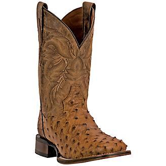 Dan Post Mens Alamosa Square Toe Tan Boots