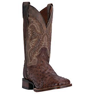 Dan Post Mens Alamosa Square Toe Choc Boots