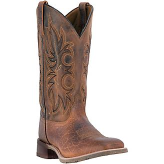 Laredo Mens Durant Square Toe Rust Boots