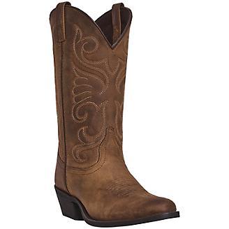 Laredo Ladies Bridget Round Toe Tan Boots