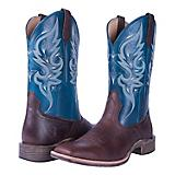 Noble Outfitters Ladies Autumn Sq Toe Teal Boots