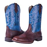 Noble Outfitters Mens Authentic Sq Blue Boot