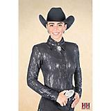 Hobby Horse Ladies Lynzee Blouse 2X Black