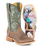 Tin Haul Ladies Ban-Dan-Uh Vintage Rider Boot