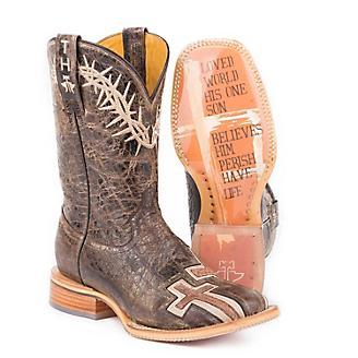 Tin Haul Ladies My Savior Bible Verse Boots