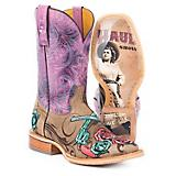 Tin Haul Ladies Sureshot Road Show Sole Boots