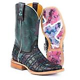 Tin Haul Ladies Entwined Roses Sole Boots