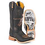 Tin Haul Mens Open Roper Rodeo Sole Boots
