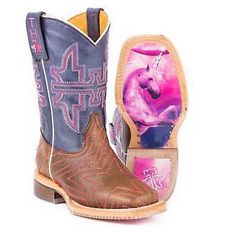 Tin Haul Kids Starlight Unicorn Sole Boots