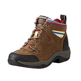 Ariat Ladies Terrain Walnut/Serape Boots