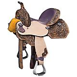 Silver Royal by Tough 1 Sweet Pea Mini/Pony Saddle