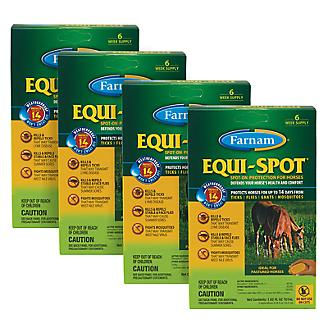 Equi-Spot Fly Control 6 Week 4-Pack