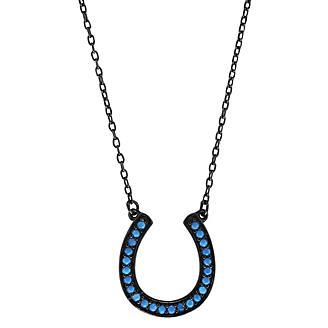 Kelly Herd Turquoise Horseshoe Necklace