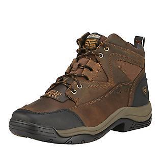 b9994c7c203 Ariat Mens Terrain Wide Square Steel Toe Boots 7D - Statelinetack.com