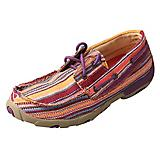 Twisted X Ladies Purple Multi Driving Mocs