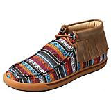 Twisted X Ladies Serape Fringe Casual Shoes