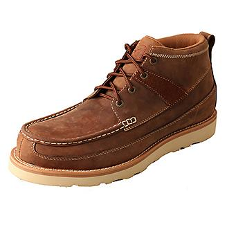 Twisted X Mens Oiled Saddle Casual Work Shoes