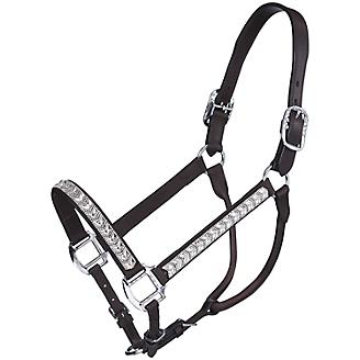 Tough-1 Crystal Show Halter with Lead