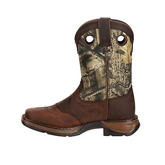 cf15e4ff1e8 Lil Rebel Durango Kids Sq Toe Mossy Oak Boots