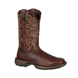 a48dac945fc Durango Mens Rebel Brown Pull On Boots