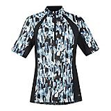 Kerrits Ladies Ice Fil Print S/S XL Horse Blue
