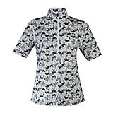 Kerrits Ladies Ice Fil Print S/S M  Laurel Pasture