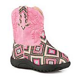Roper Cowbabies Glitter Gal Round Toe Boots
