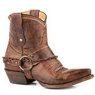 Roper Ladies Selah Short Snip Toe Boots