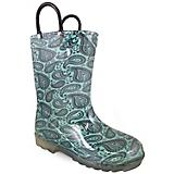 Smoky Mountain Childs Lightning Turq PVC Boots