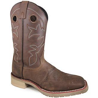 bb4989b6246 Smoky Mountain Mens Landon Square Toe Boots 7.5D - Statelinetack.com