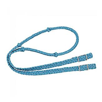 Tough 1 Reflective Cord Knotted Roping Rein