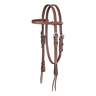 Tough 1 Mini Harness Browband Headstall w/Tie