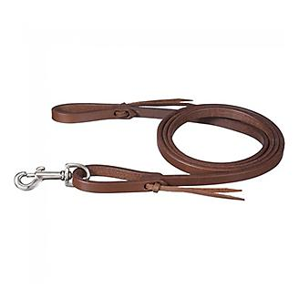 Tough 1 Mini Harness Leather Roping Rein w/Tie End