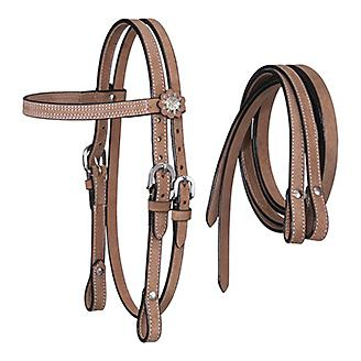 Tough 1 Mini Roughout Headstall with Reins