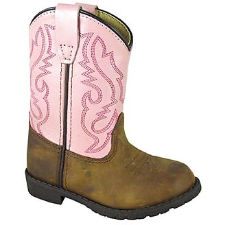 Smoky Mountain Toddler Hopalong Brn/Pnk Boots