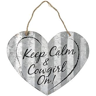 Heart Shaped Metal Sign
