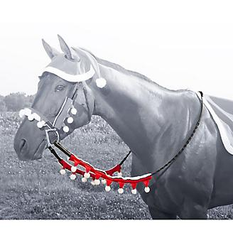 Holiday Santa 2 Piece Rein Covers